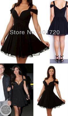 Sexy Short Black Homecoming Dresses