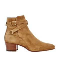 Where Every It Girl Buys Her Ankle Boots via @WhoWhatWear- Saint Laurent Blake Jodhpur Boots ($995)