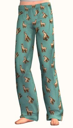 plumbbobtoggle: nrjsims: Dorky pj pants... / sims cc finds