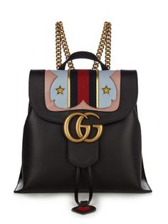 GG Marmont leather backpack | Gucci | MATCHESFASHION.COM US