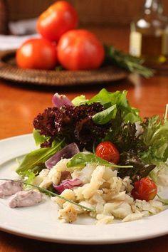 Salada de bacalhau do restaurante Badebec (Foto: Divulgação)