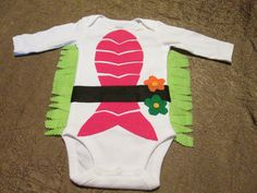 Halloween costume Long sleeve sushi baby onesie by Gizmopurses, $28.00