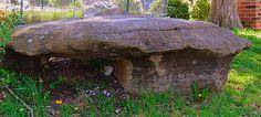 Big old mushroom looking rock