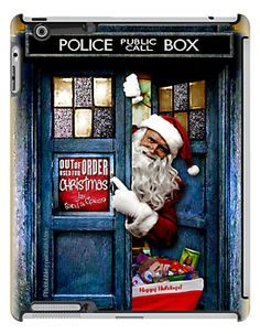 Tardis Doctor Who Out Of Order Used for Christmas by Santa Clause apple iPad 2, iPad 3, iPad 4, iPad mini case by pointsalestore corp