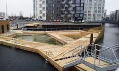 Floating swimming pools: a trend? - waterloft.nl : waterloft.nl