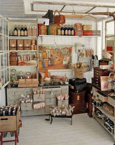 """Miniature """"old general store"""" in 1/12 scale"""