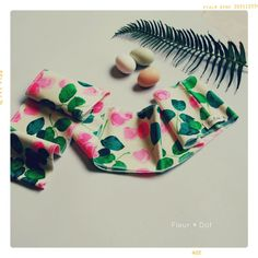 Rose Patch Infinity Scarf Wrap from the Summer 12 by FleurandDot, $27.00
