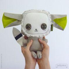 Albano Orelha. Toy art by ladoludens (Mateus Andrade & Alessandra Marques).