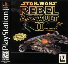 Star Wars - Rebel Assault II (Playstation)