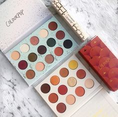 Colourpop Eye Shadow Palettes | Eye Makeup | Colorful Shadows | Makeup  #makeup #eyemakeup #eyeshadow #colourpop  Pin: @amerishabeauty