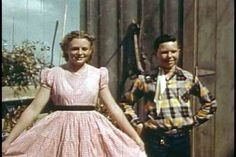 Historic square dancing film 1950    Name, I don't know...