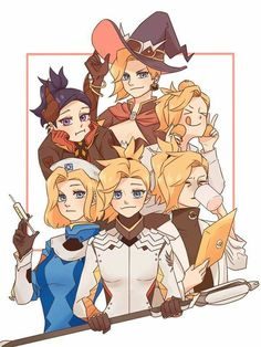 Mercy skins<< now I want a role play or something as all the different mercy skins, cause they all seem to have different personalities