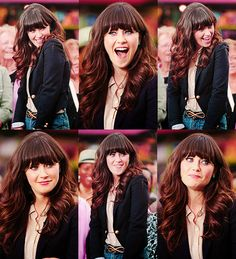 I've been told I look like her (Zooey Deschanel). DO I really or is it just the fact with both have wavy hair and bangs :P