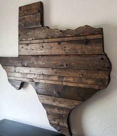 Attirant 205 Likes, 4 Comments   Erin Harris (@harris_handcrafted) On Instagram: U201c.  Rustic Texas DecorReclaimed Wood Wall ArtWood ...