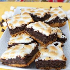 s'mores and brownies