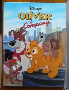 Vintage Disney Oliver Company Storybook By ShopHereVintage