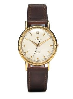 Rolex Vintage Yellow Gold Oyster Perpetual Datejust Watch (c. 1964)