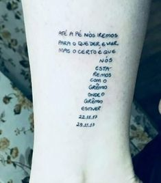 Tattoo Tricolor