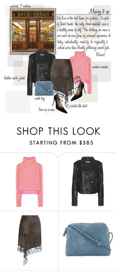 """Mon Style № 110 - October 7, 2016"" by ann4-kar1na ❤ liked on Polyvore featuring Acne Studios, Calvin Klein Jeans, Givenchy, The Row and Gianvito Rossi"
