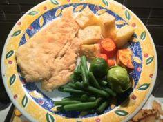 Chicken Schnitzel - Chemical Free Chemist:  low FODMAP ~ failsafe ~ low salicylate ~ low amine ~ dairy free ~ gluten free ~
