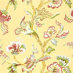 Thibaut Serendipity - Shrewsbury - Wallpaper - Yellow I think this would be beautiful in a dining room or an upstairs guest bedroom--full of light!