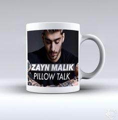 Zayn Malik Pillow Talk poster White Mug