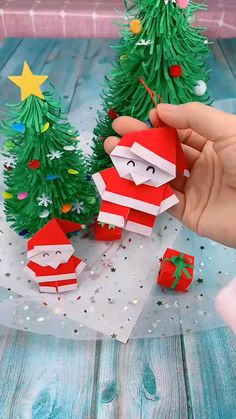 creative crafts let s do together Christmas Paper Crafts, Diy Christmas Gifts, Halloween Crafts, Holiday Crafts, Christmas Christmas, Simple Christmas, Ideas For Christmas, Christmas Crafts For Kids To Make At School, Christmas Decorations Diy Crafts