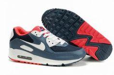 sale retailer e0d05 8cb2d Shop Womens Nike Air Max 90 Monsoon Blue White Astro Pink Black Discount  black, grey, ...