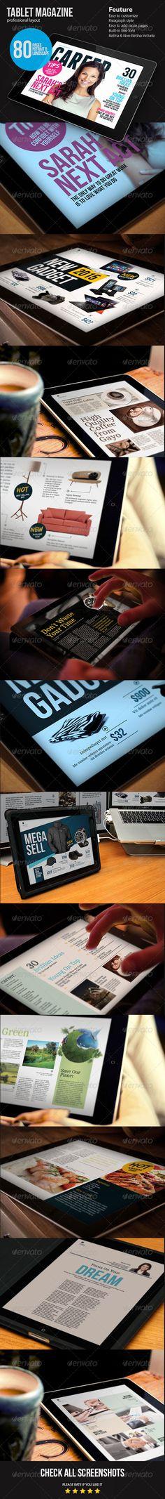 Ipad Magazine Template - Digital Magazines ePublishing