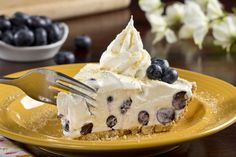 This no-bake Blueberry Cream Pie is ready to make your summer something to remember!