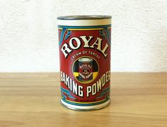 1930's Royal Baking Cream of Tarter Powder by RedRavenCollectibles