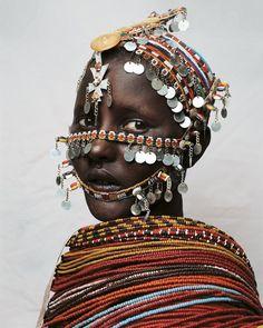 African tribal headdress