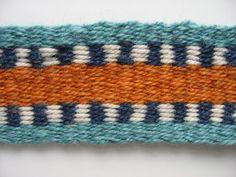 hand-woven wool banjo or F mandolin strap