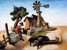 History of Art: Thomas Hart Benton