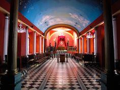 Caracas Masonic Temple | FULL POST: http://caracasshots.blogspot.com/2013/05/temple-of-symbols-part-3.html #Freemasonry #Caracas