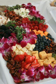 Fruit & Cheese Platter | Flickr - Photo Sharing!