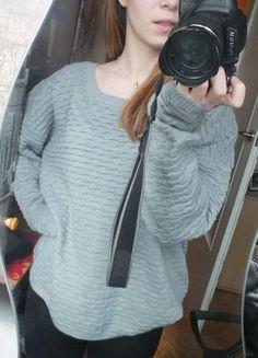 Kup mój przedmiot na #vintedpl http://www.vinted.pl/damska-odziez/swetry-z-dzianiny/12212307-sweterek-pastelowy-szary