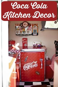 Ice Cold Here Towel A Drink Coca Cola Kitchen Kitchenaid Mixer coca cola kitchen decor - Kitchen Decoration Kitchenaid, Kitchen And Bath, Kitchen Decor, Kitchen Tips, Coca Cola Decor, Coca Cola Kitchen, Hamptons Decor, Buy Classic Cars, Oven Cleaning