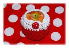 Lunchbags - APFELTASCHE - ein Designerstück von FilzPilz---HandArbeit-mit-Herz bei DaWanda
