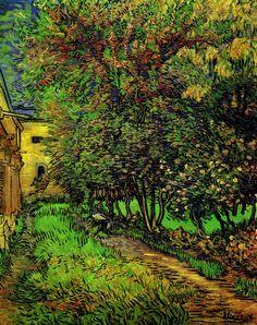 Ван Гог «Сад больницы Сен-Поль»