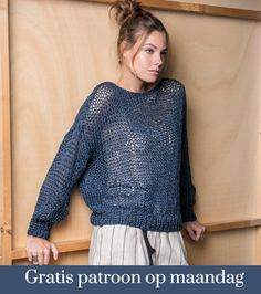 Catalogue : Denim Mania - 16 Looks Sweater Knitting Patterns, Easy Knitting, Pull Mohair, Style Feminin, Make Your Own Clothes, Quick Knits, Vogue Knitting, Knitting Magazine, Diy Dress