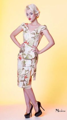 Fifties Style Hawaiian Print Dress | Style: Casual | Pinterest ...