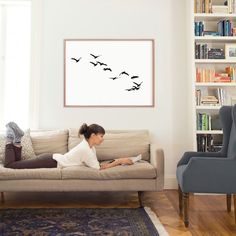 """""""Landing"""" - Art Print by Neeta Sawhney in beautiful frame options and a variety of sizes."""