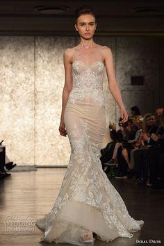 New York Bridal Fashion Week — Day 1: Kelly Faetanini, Inbal Dror, Claire Pettibone | Wedding Inspirasi