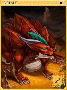 Detardeurus Card - Ragnarok Online