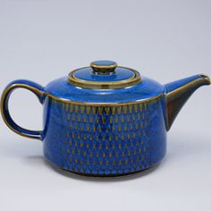 I collect tea pots. I have Hall teapots, my great grandmas teapot, and teapots that my brother Bob brought me from his travels to Turkey and Japan.