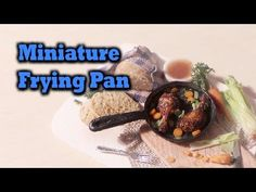 ▶ Mini Series#1 Pt.2; Miniature Frying Pan - Polymer Clay Tutorial - YouTube