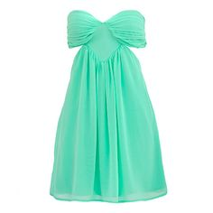 mint-colored party dress! love the cut outs