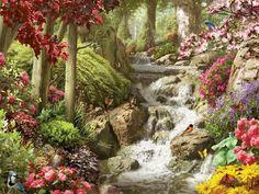 Everything So Beautiful via MuralsYourWay.com