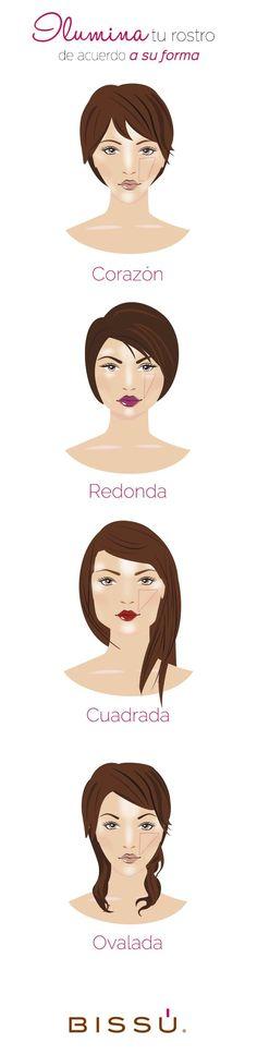 Ilumina tu rostro de la forma adecuada #Maquillaje #Ceramiel